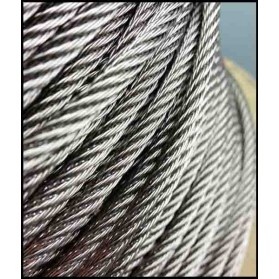 Stainless Steel Rope 7×7 (1m)