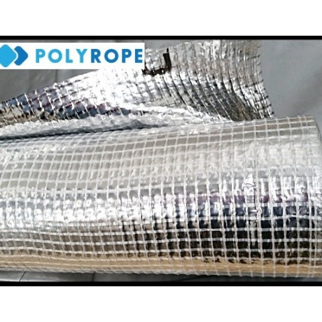 Roof Vapour Barrier Insulation Foil Membrane 90gsm Metallized Aluminium